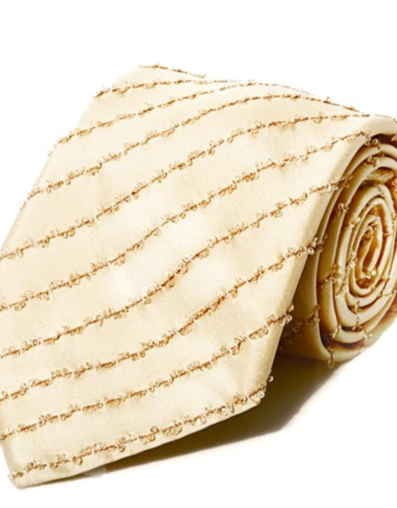Gold Tie with Gold Lamé Thread