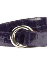 Violet Alligator Belt