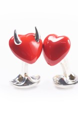 Naughty & Nice Hearts Cufflinks