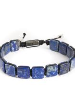 Lapis Corded Bracelet