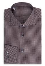 Brown and Blue irregular dot pattern