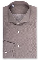 Geometric florettes, Printed Poplin Shirt