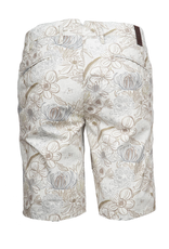 Floral Twill Shorts