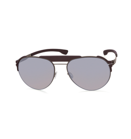 Sunglasses Fadeaway :Graphite_Burgundy :Quicksilver :Rubber