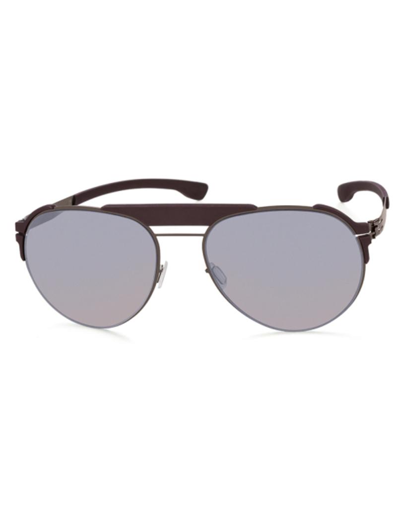 Sunglasses Fadeaway :Graphite_Burgundy :Quicksilver :Rubber