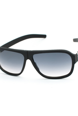 Power Law: Black and Chrome with Black to Clear Lens