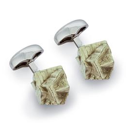 Pyrite Cufflinks