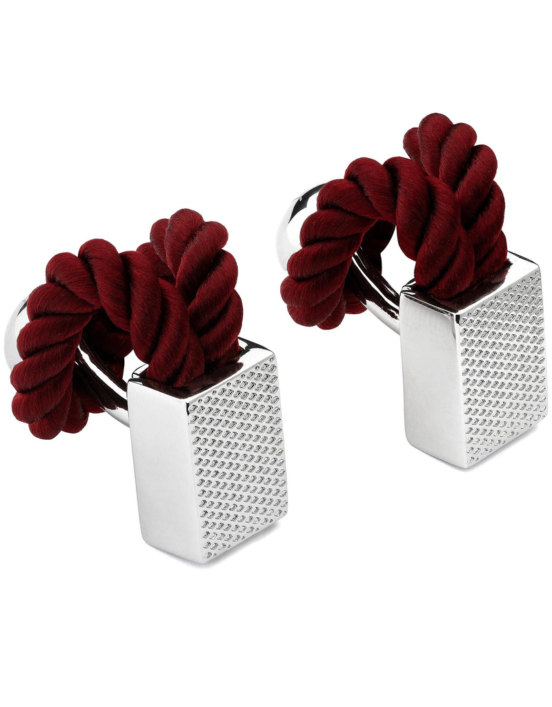 Rope Wrap Wine Cufflinks
