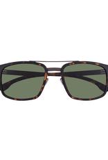 Sunglasses Sunny :Teak-Magma :Green