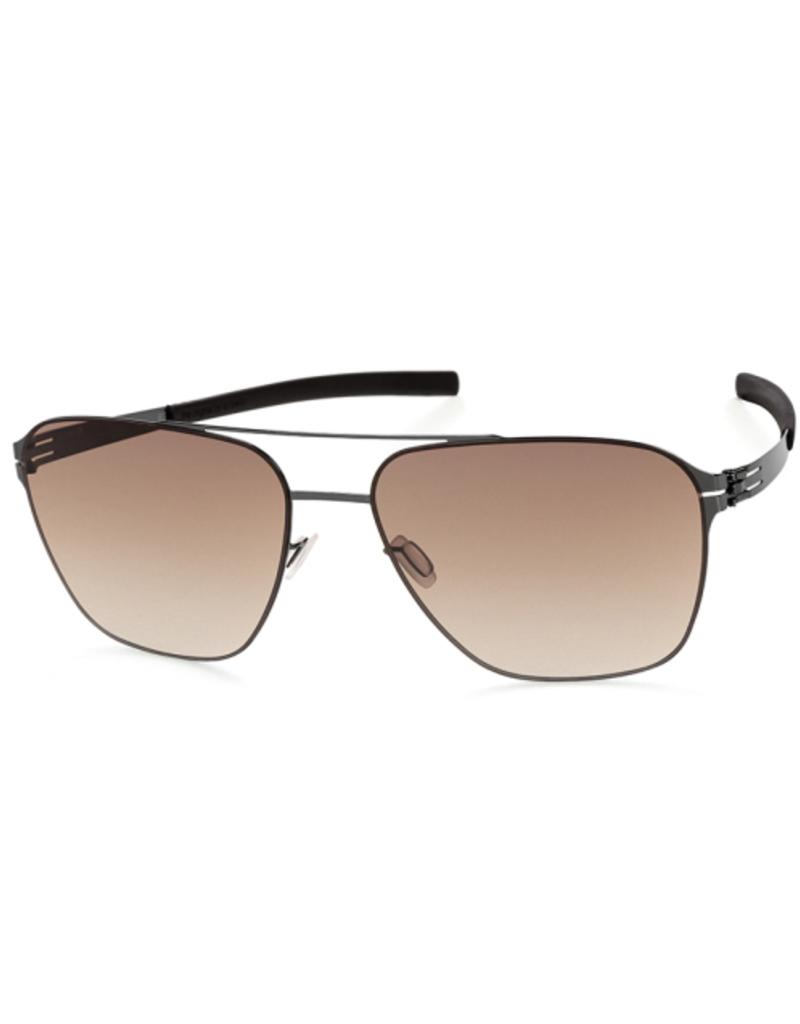 Sunglasses Jonathan I. Large :Gun-Metal :Black
