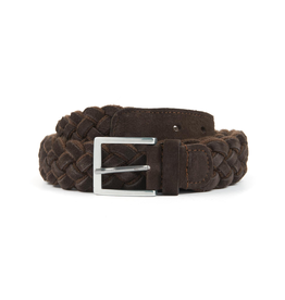 Wool & Suede Braided Belt