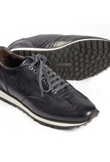Leather Sneakers - Dark Gray
