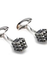Cube crystal Cufflinks