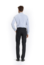 Charcoal Slim Wool Pants