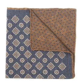 Wool blend Pocket Square