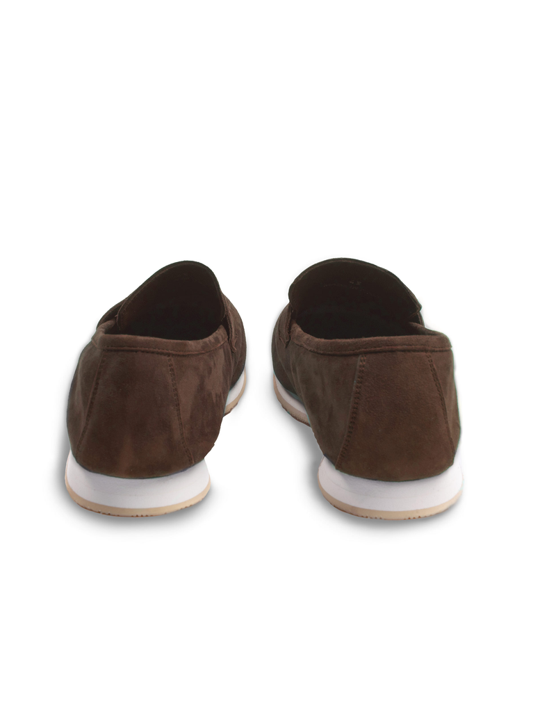 Brown Suede Moccasins