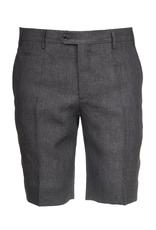 Linen Dress Shorts, Brown