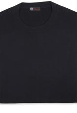 Cashmere & Silk Crew Neck Sweater, Midnight