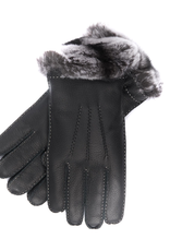 Leather Gloves with fur Lining