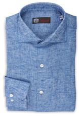 Soft Linen Twill Shirt, Handmade
