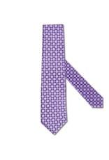 Purple tiles with Silver thread, Satin