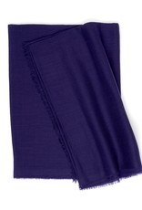Superfine Cashmere Scarf, Purple