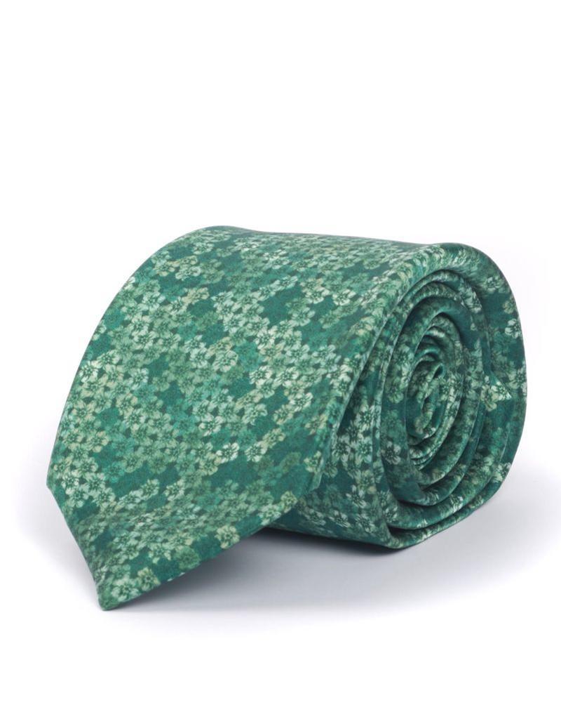 Silk Seven Fold Printed Tie