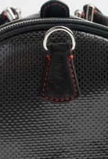 Carbon Fiber Weekender bag, Red detail