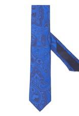 Blue Woven Tie