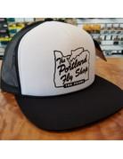 Portland Fly Shop Foam Stag Trucker Hat