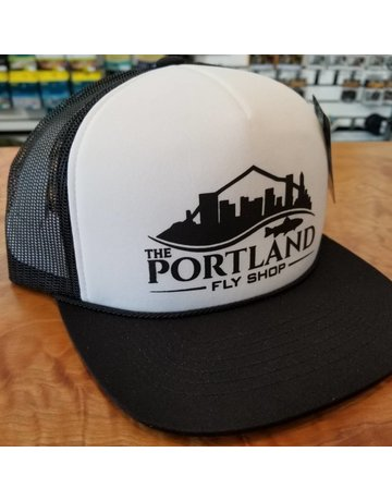 Portland Fly Shop Foam Logo Trucker Hat