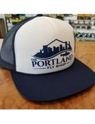 Portland Fly Shop Foam Logo Trucker Hat