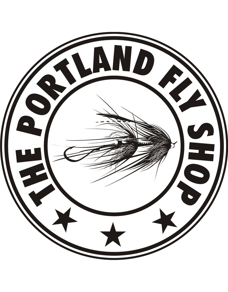 "Portland Fly Shop Intruder Sticker 3"""