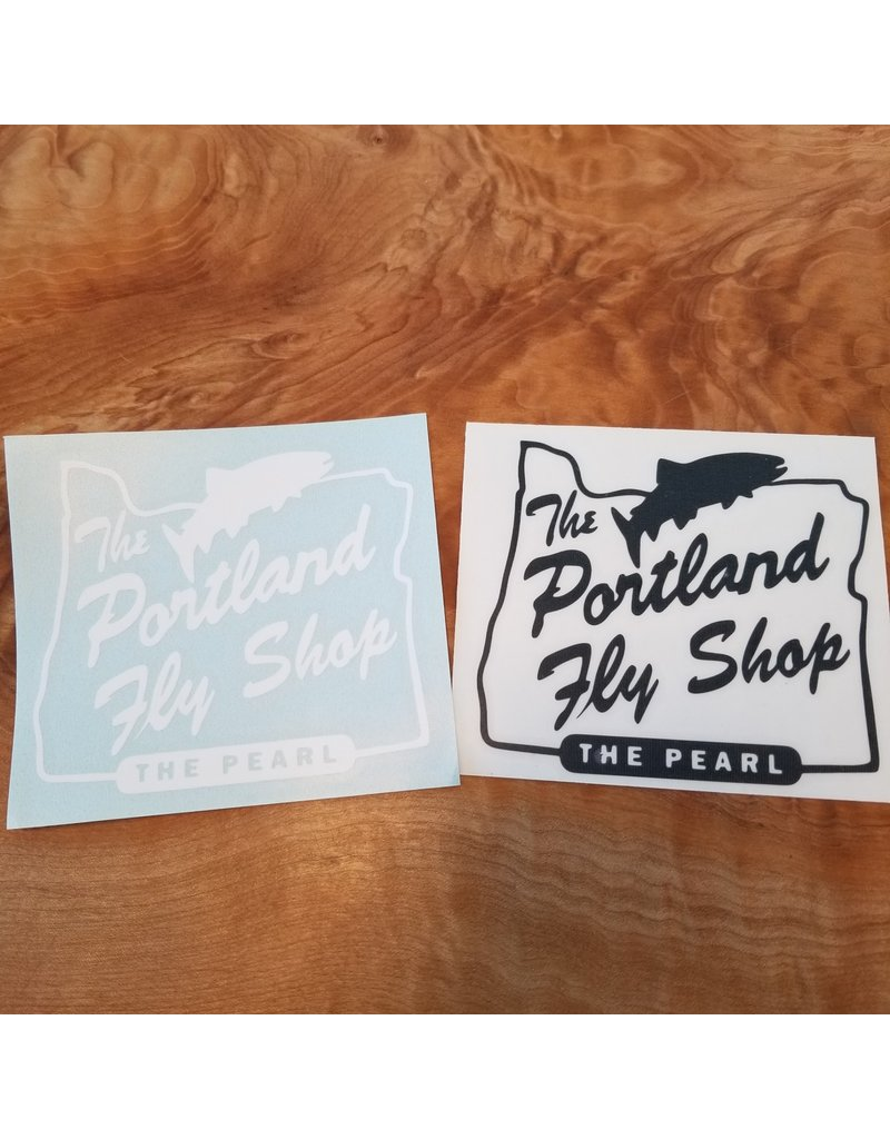 In House Portland Fly Shop Transfer Sticker