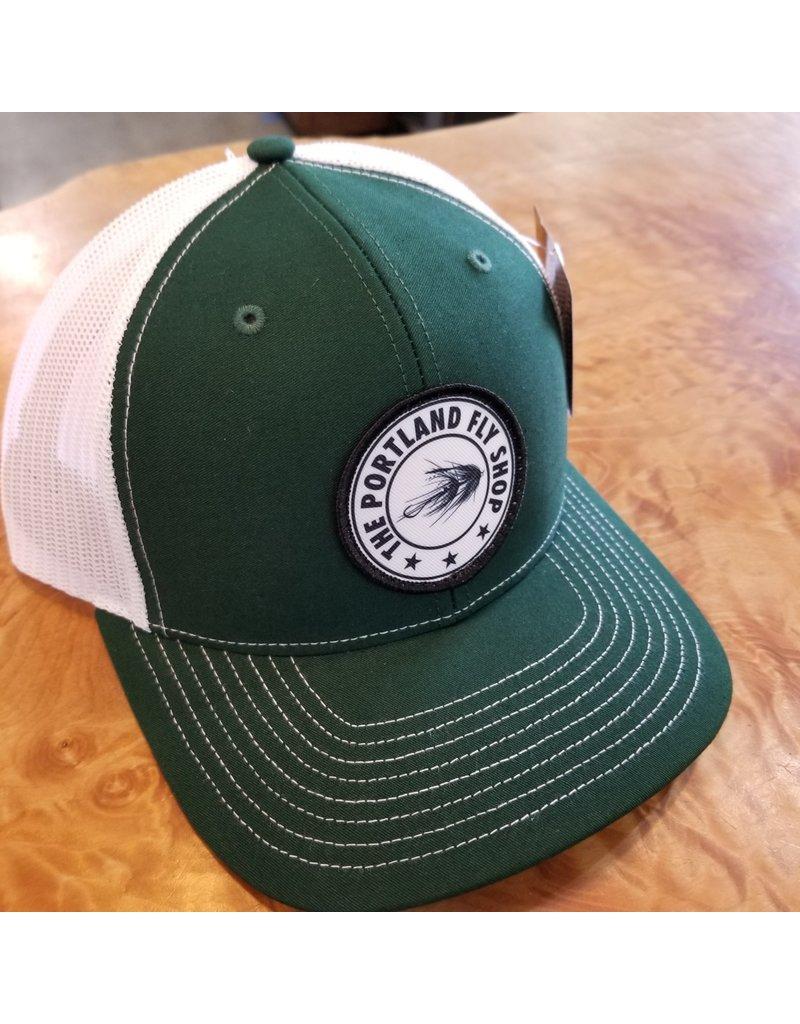 Portland Fly Shop Trucker-Intruder Logo