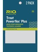 Rio Rio Powerflex Plus Tapered Leader (2-Pack)