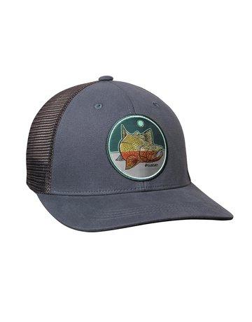 Sage Sage Patch Trucker Hat - Rainbow Trout