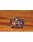 "Hareline Dubbin Plummeting Tungsten Beads Black Nickle 1/16"""