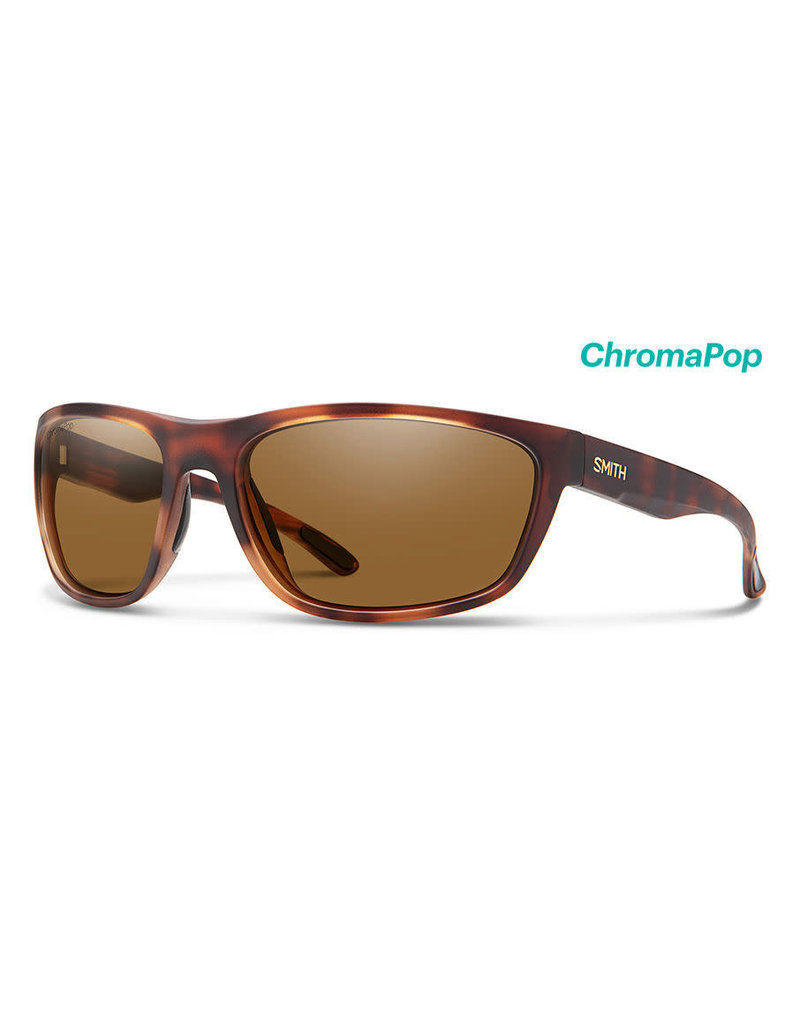 Smith Optics Smith Redding ChromaPop Glass - Matte Tortoise/Plr Brown Lense