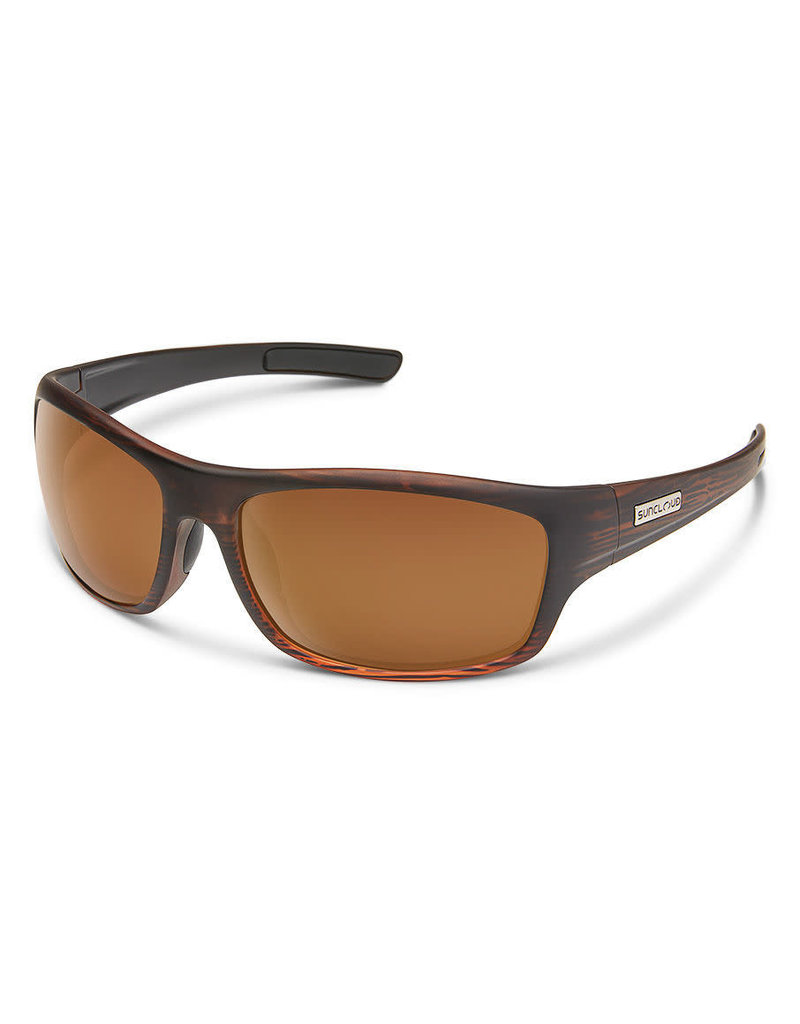 Suncloud Cover - Burnished Brown W/ Plr Brown Lense
