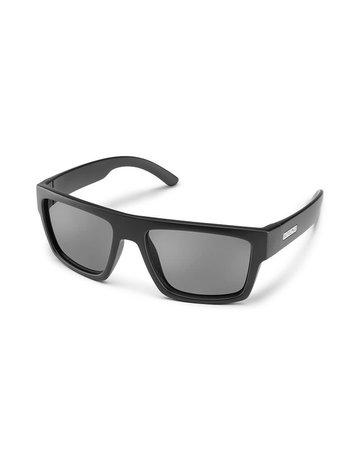Suncloud Flatline - Matte Black W/ Plr Grey Lense