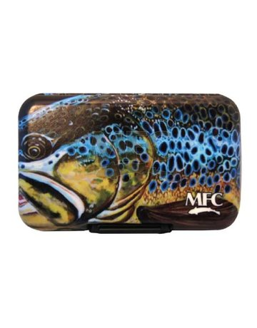 Montana Fly Company MFC Poly Fly Box - Udesen's Montana Brown
