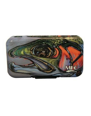 Montana Fly Company MFC Poly Fly Box - Borski's Rainbow III