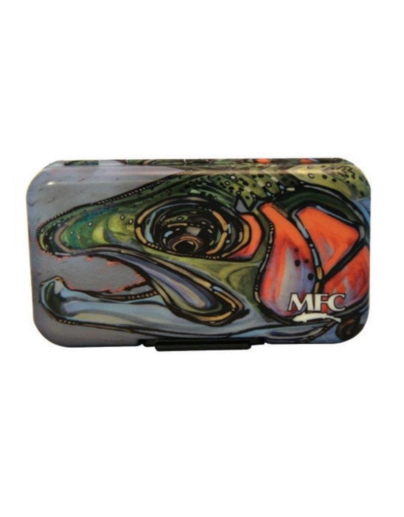 Montana Fly Company MFC Poly Fly Box - Borski's Rainbow III