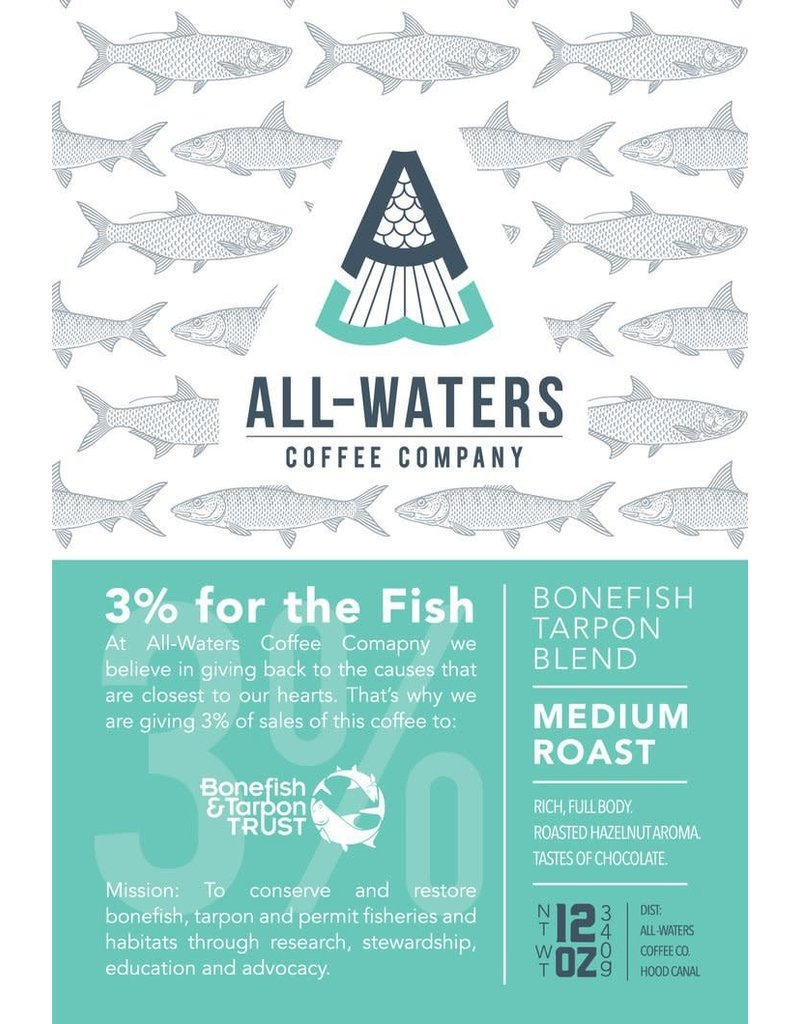 All Waters Coffee All Waters Coffee Company 12oz