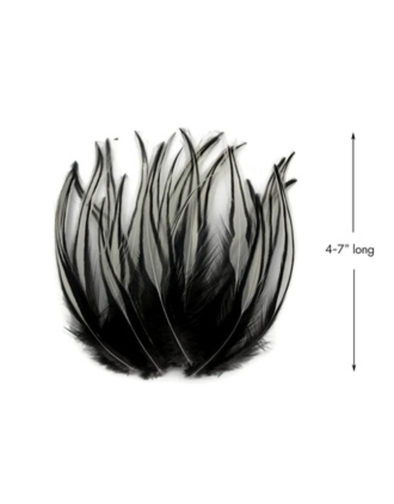 Laced Saddle Feathers