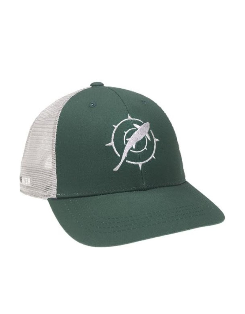 Rep Your Water Trout Compass Hat