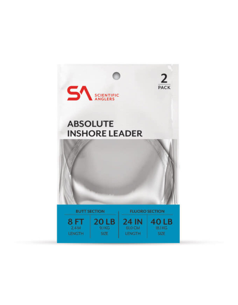 Scientific Anglers Scientific Anglers Absolute Inshore Leader 2-PACK