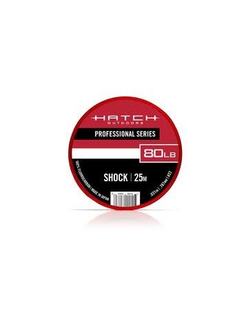 Hatch Outdoors HATCH PROFESSIONAL SERIES FLUOROCARBON SHOCK TIPPET 25M