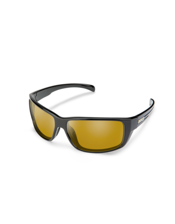 Suncloud Milestone Black Polarized Yellow